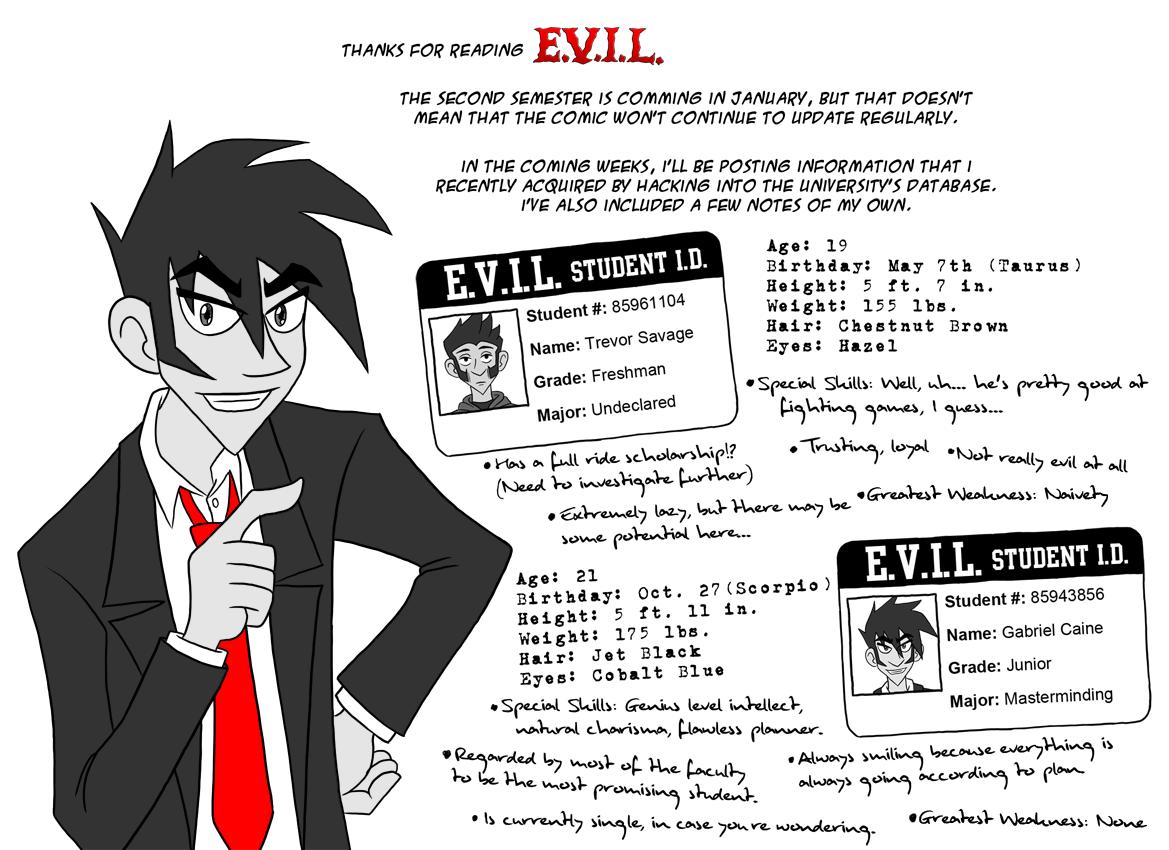 Gabriel's Secret Files 1